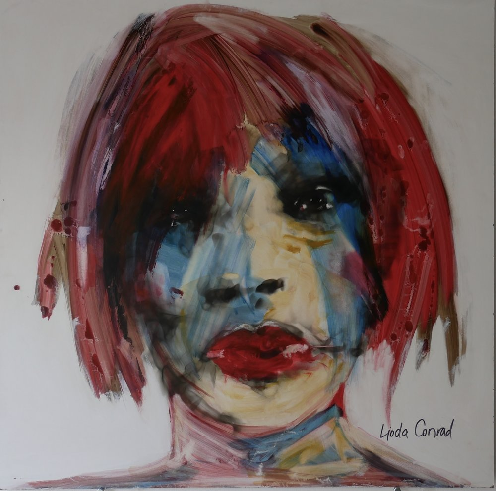 Red Head Blush by Lioda Conrad
