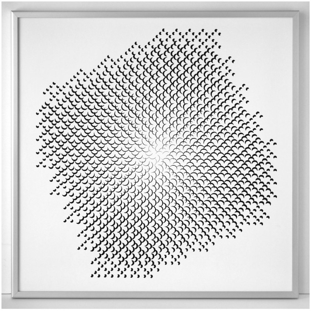 Gottfried Jäger - Pinhole structure 3.8.14 F 2.5, 1967 / Nov. 2010