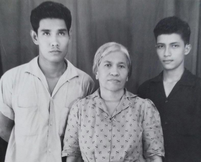 Jakarta 1957, Jan, Tante Marie en Andre