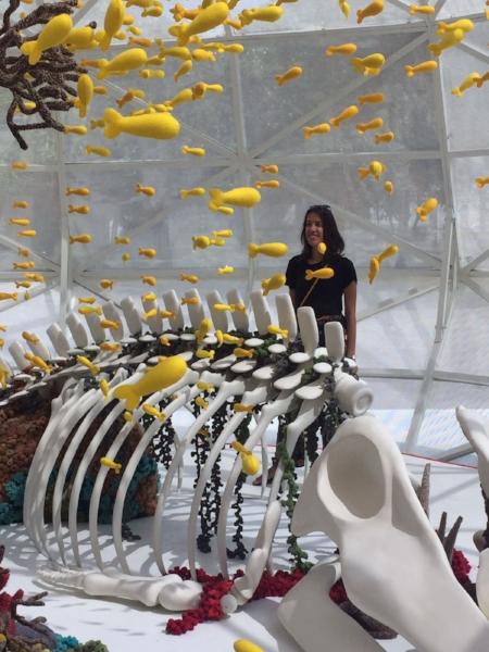Tijdens ArtJog 2018, het grootste hedendaagse kunst festival van Yogyakarta