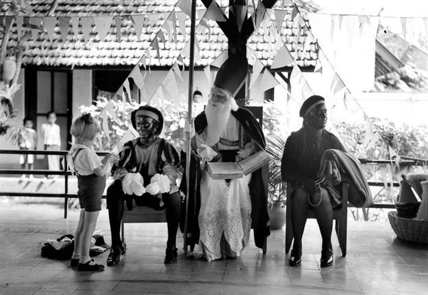 Sinterklaasfeest in Malang, 1935. Via www.indisch3.nl