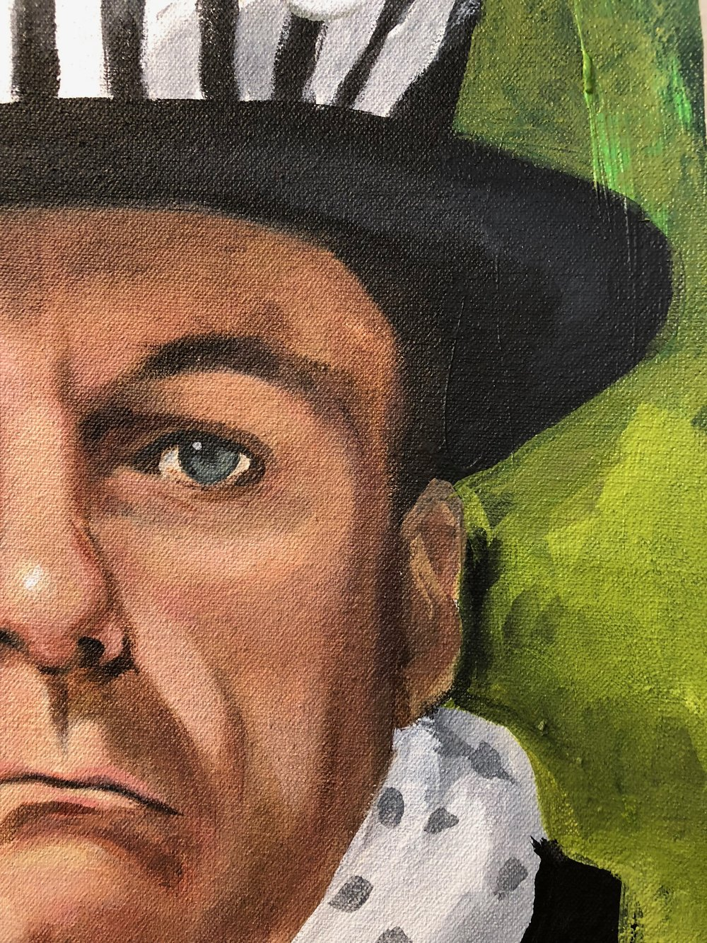 Detail of Mad Hatter