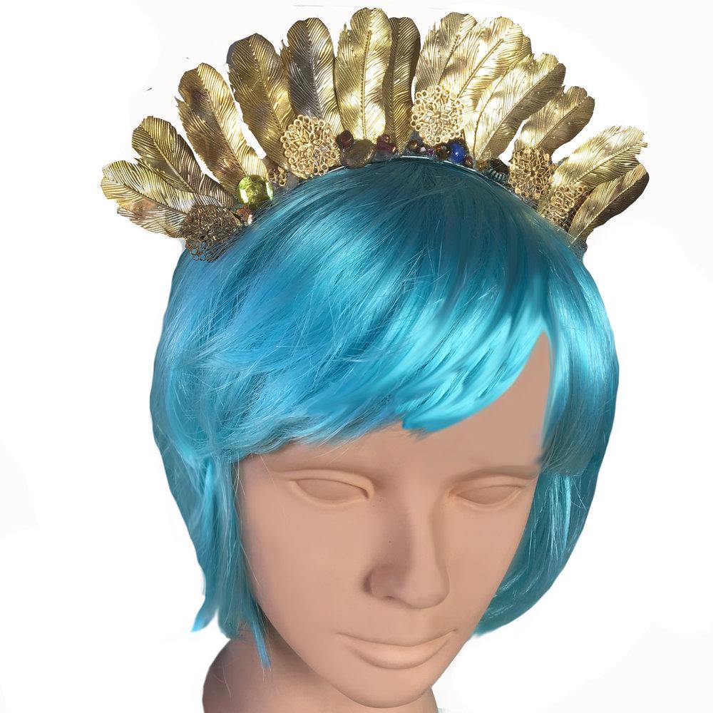"""""""Golden Corona Headpiece"""""""