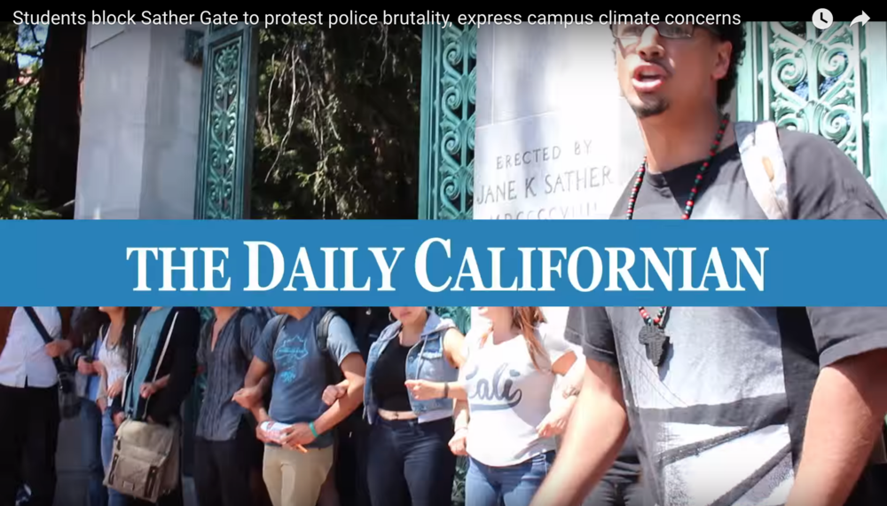 The Daily Californian - Multimedia Journalism, Graphic Design, WritingVideo and music production at UC Berkeley's campus paper, with some graphic design and writing sprinkled in