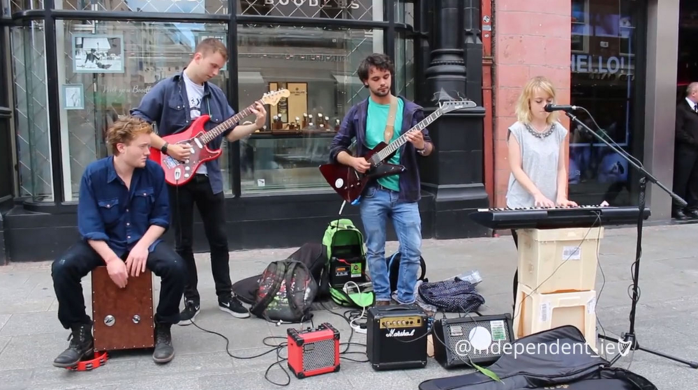 Meet the street musicians on Grafton Street - To put together this package, I wandered the streets of Dublin, conducting interviews with a fellow intern and collecting b-roll footage. Back in the newsroom, I edited the video and wrote an article to accompany it.