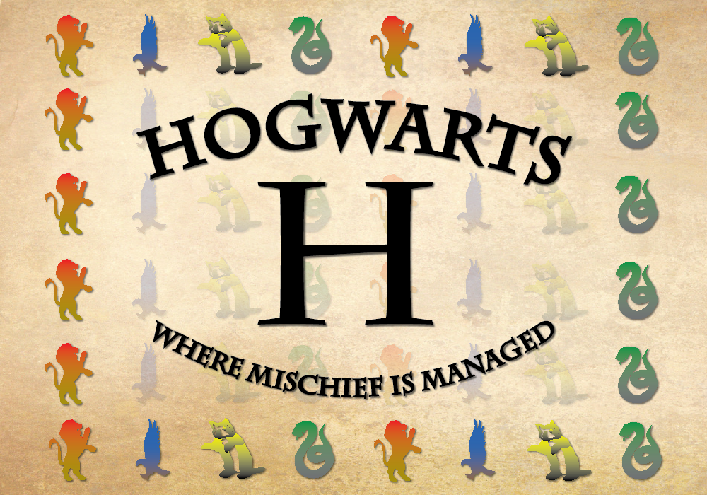 Hogwarts tapestry   Adobe Illustrator