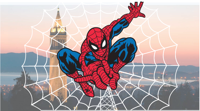 Spider-Man Campanile   Adobe Illustrator