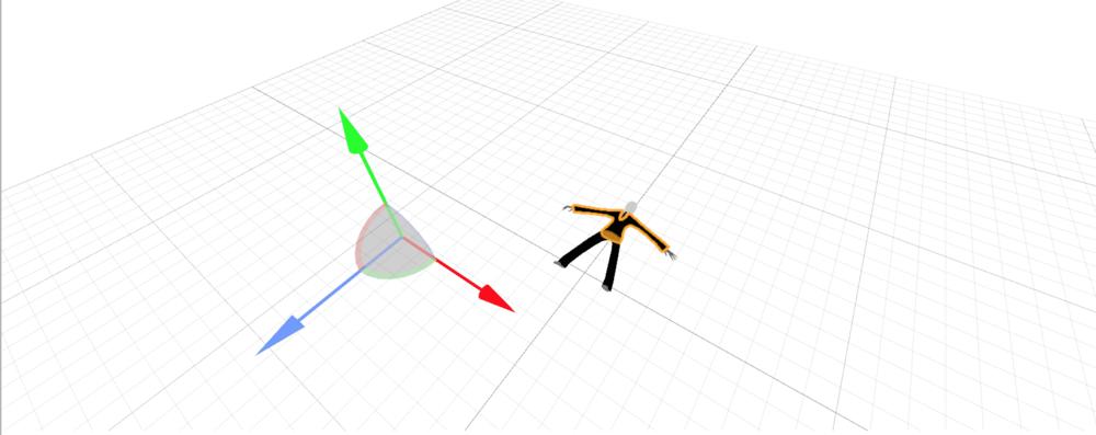 Slender Man model in XCode