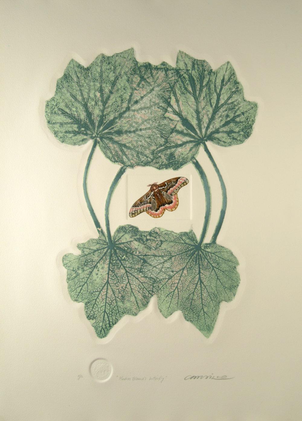 Factoría Santa Rosa. Rimer Cardillo,   Mariposa de Piedras Banca, De la serie Sublime Jewelry.  1978-79