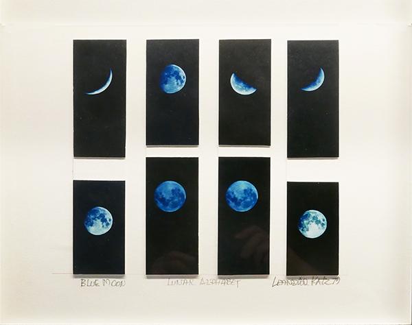 Leandro Katz  Blue Moon  1979