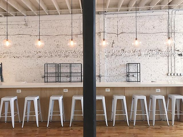 An 18ft bar complete with plenty of outlets. Make yourself comfortable with a latte and a laptop. Get some work done, sip, and shop. While we map out our offerings over here, be sure to let us know what you'd like to see on tap. 🍻☕️🥂