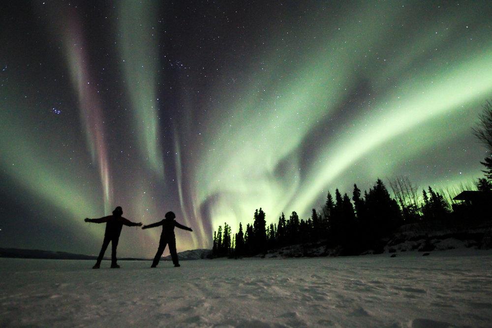 Northern Lights Friendship