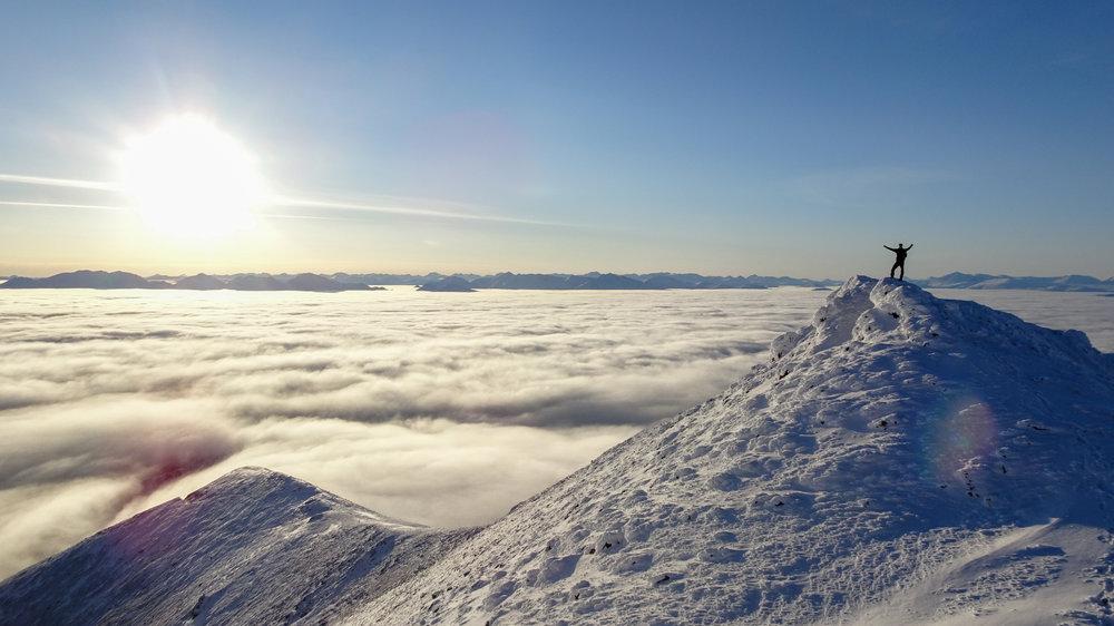 Mt. Lorne summit
