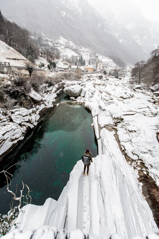 Verzasca Valley Winter