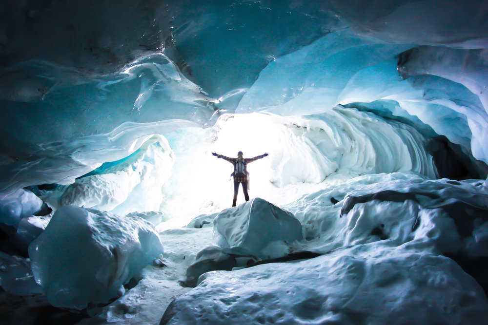 Columbia Icefield Icecave