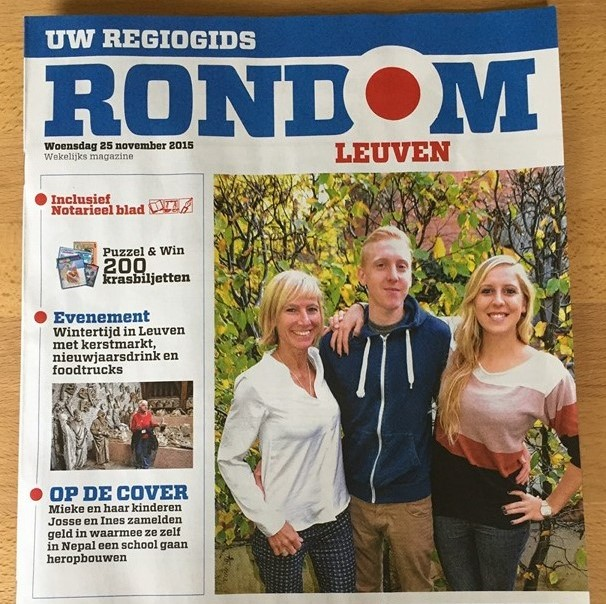 """Rondom Leuven"" November 2015 issue"