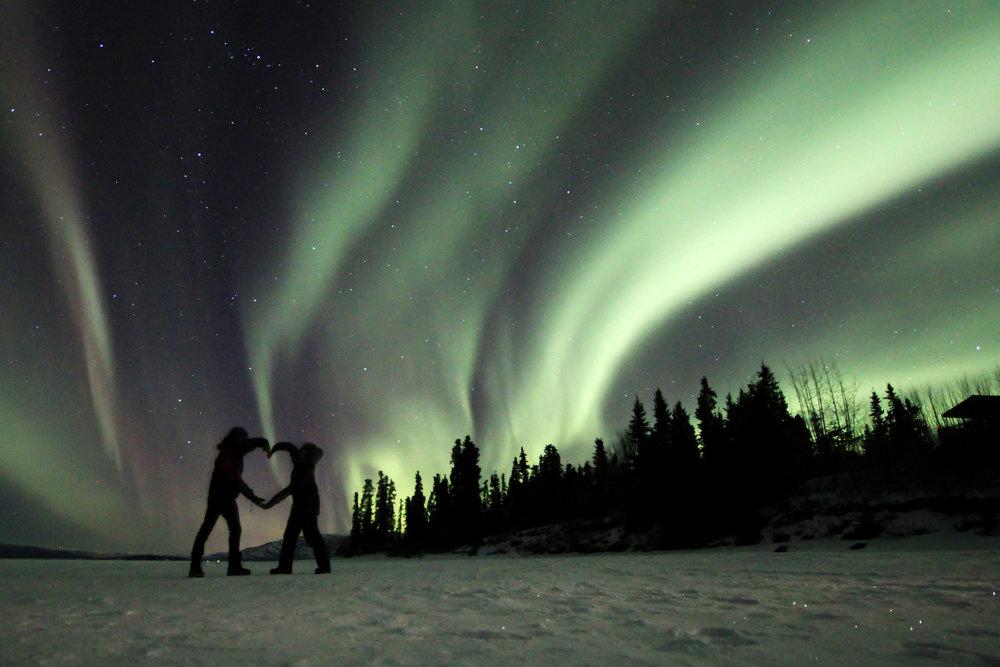 Valentine Northern Lights