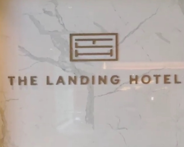 Lobby Enterance at the Landing Hotel