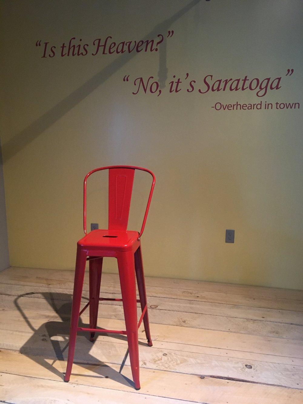 Saratoga Quote