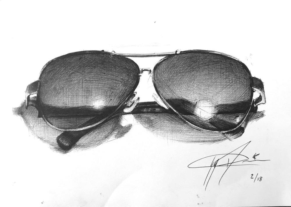 Study Of Sunglasses