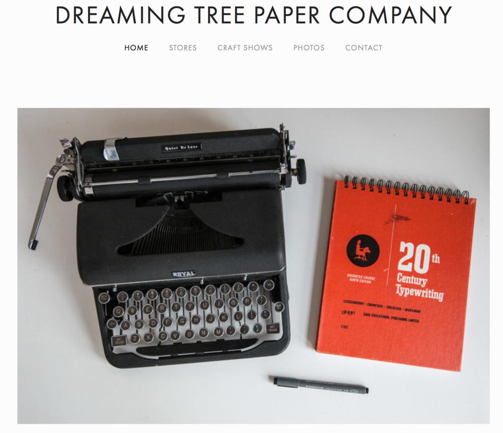 Dreaming Tree Paper Company (www.dreamingtreepaper.com)
