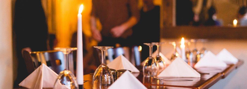 Restaurant napkins