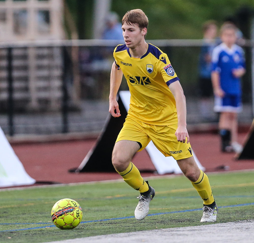 Matt Thorsheim in action against NJ Copa FC