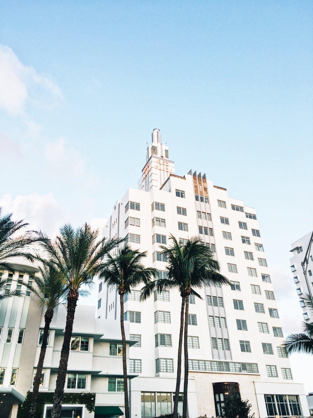 Miami Art Deco District design inspiration