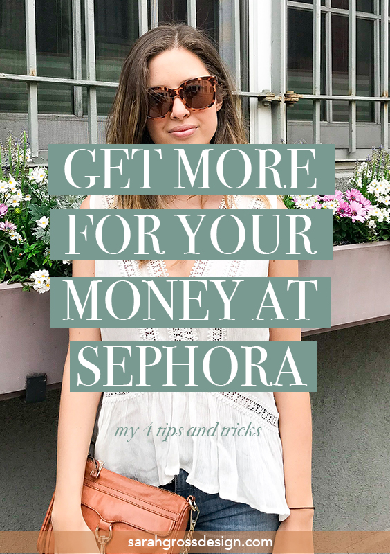 get more for your money at sephora