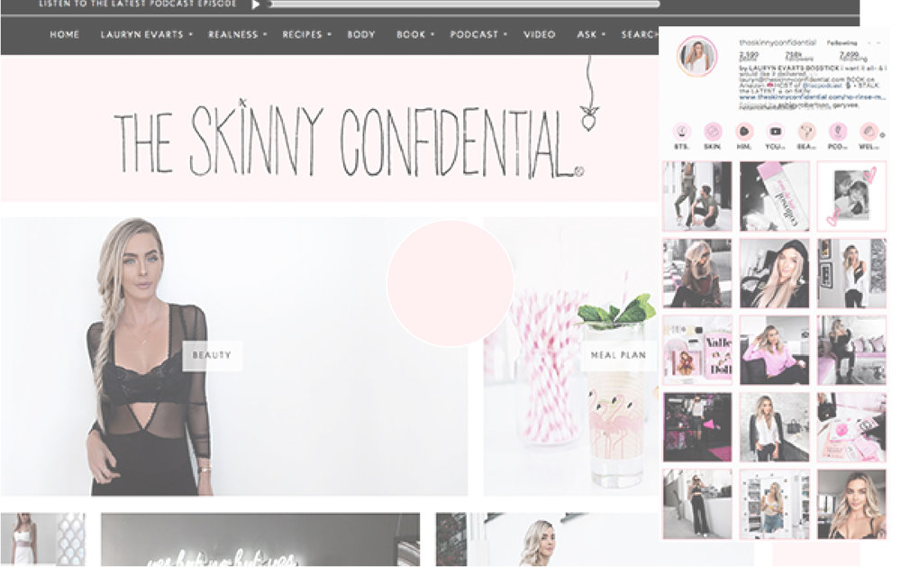 one color palette the skinny confidential