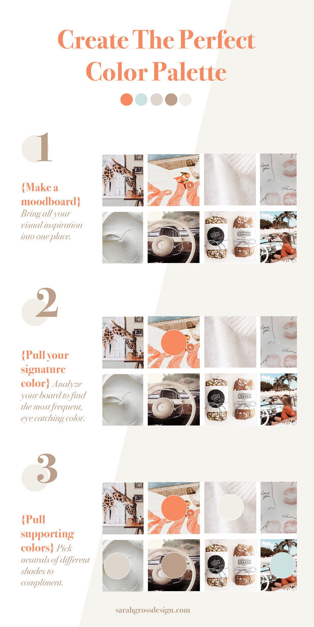 how to create color palettes for your small business