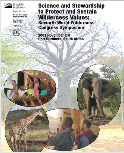 Proceedings of the 7th World Wilderness Congress, South Africa Nov 2001.jpg