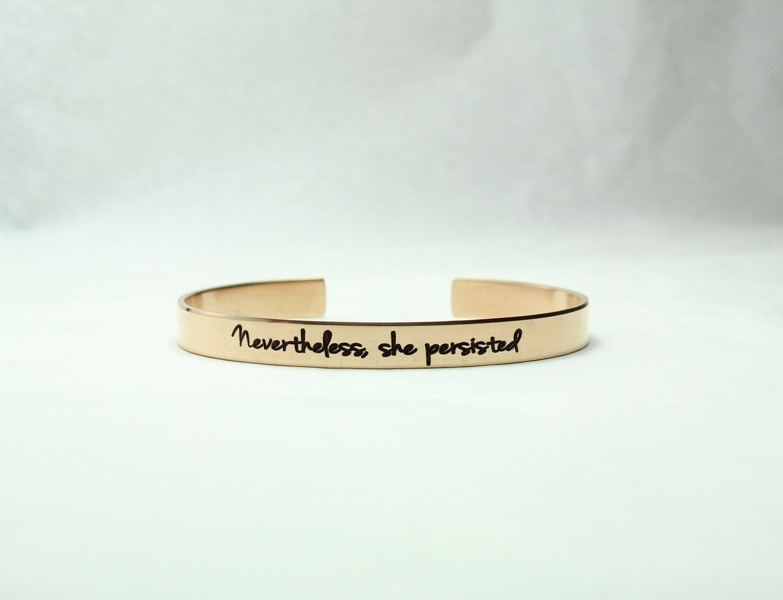 Nevertheless She Persisted Bracelet Sanaya Set