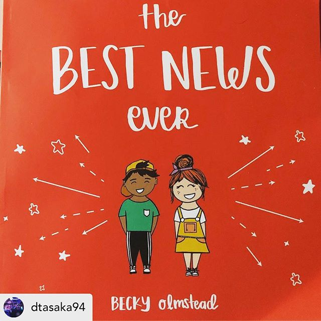 Thank you everyone for all your support! . . . • @dtasaka94 Just received this book! The Best News Ever is an excellent book and the perfect gift for your little ones. I'm so excited to share this on Sunday with my kids in church! #kids #bestnewsever #godloveskids #vineyardkidsusa #nextgeneration #thefatherslove