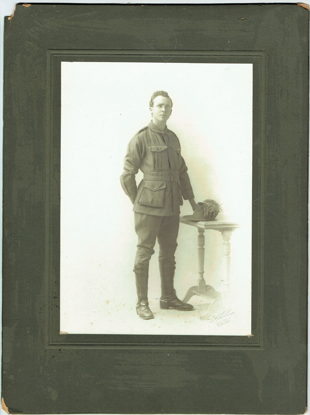 Reg in 10th Light Horse Regiment uniform