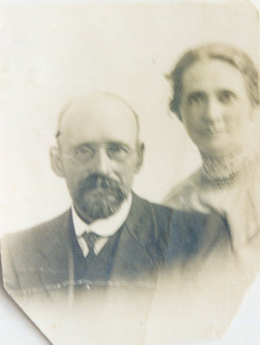 Reg's parents, Robert and Annie Walters