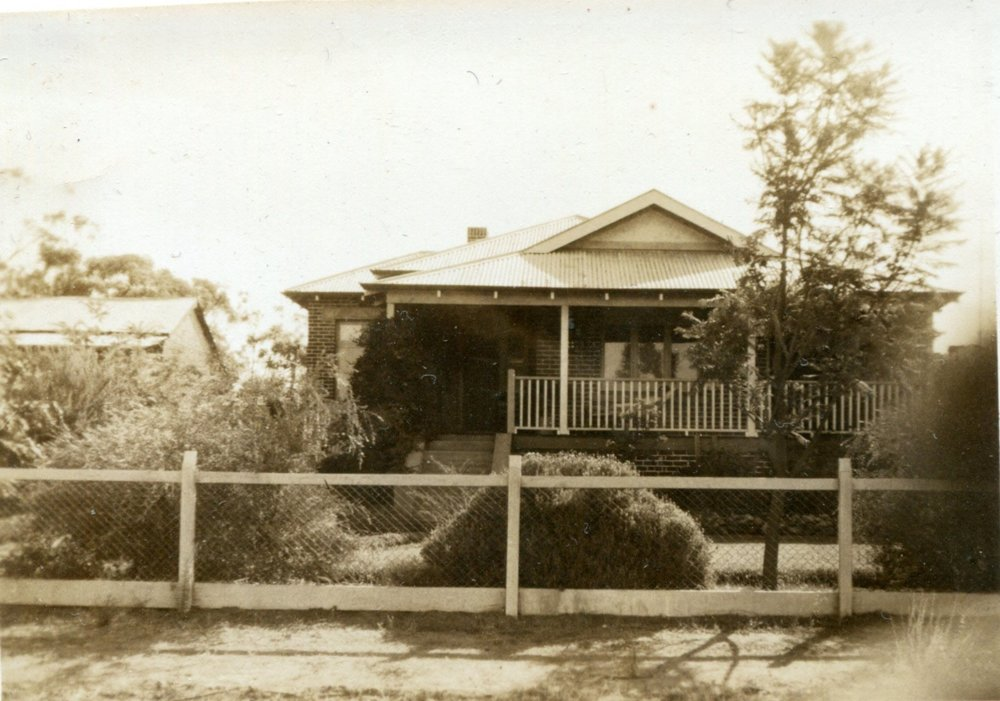 Reg and May's home at Fermoy Street, Northam.