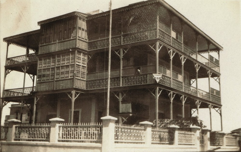 The YMCA's quarters at Zagazig, May to July 1919