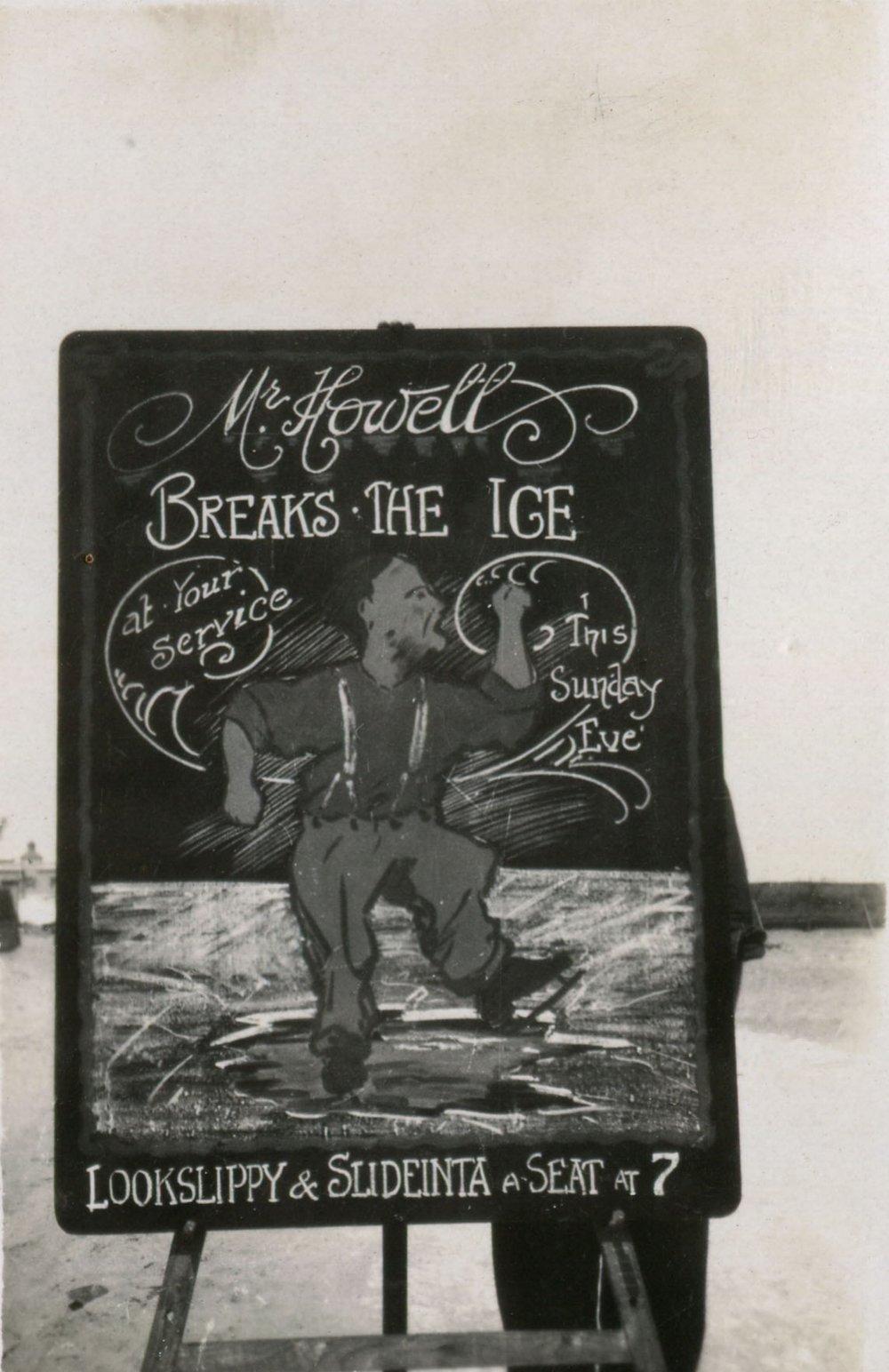 reg walters049 Mr Howell breaks the ice.jpg