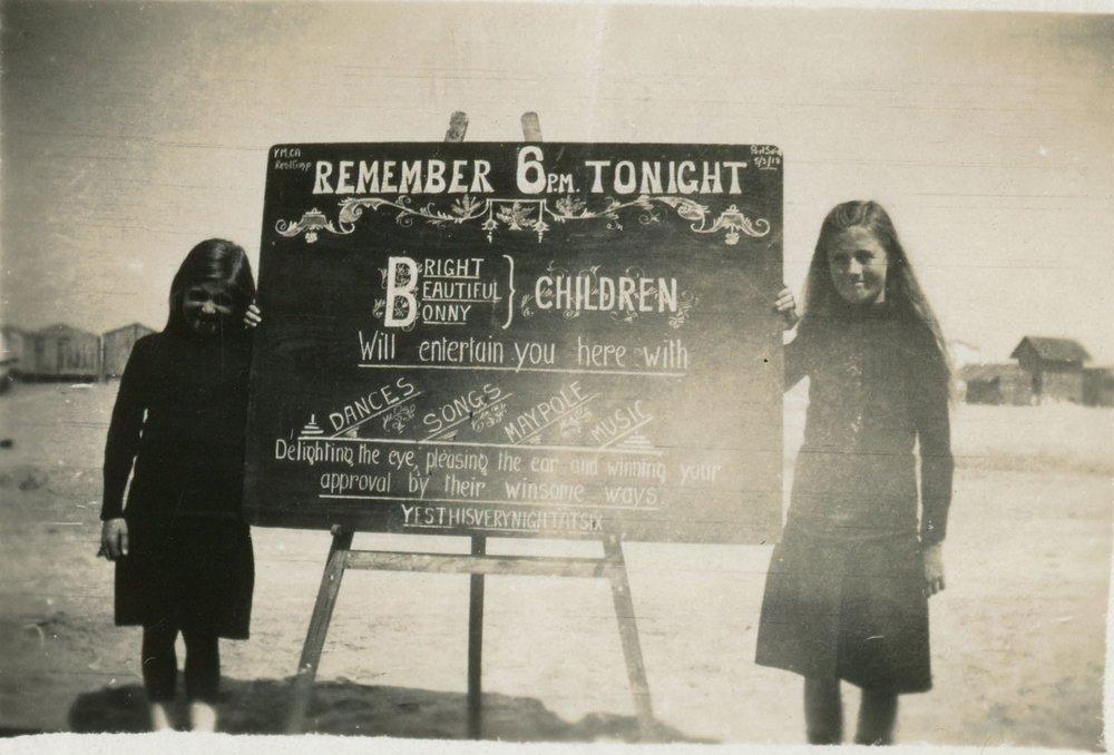 reg walters050 Bright Beautiful Bonny children YMCA Rest Camp Port Said 5 Mar 1918.jpg
