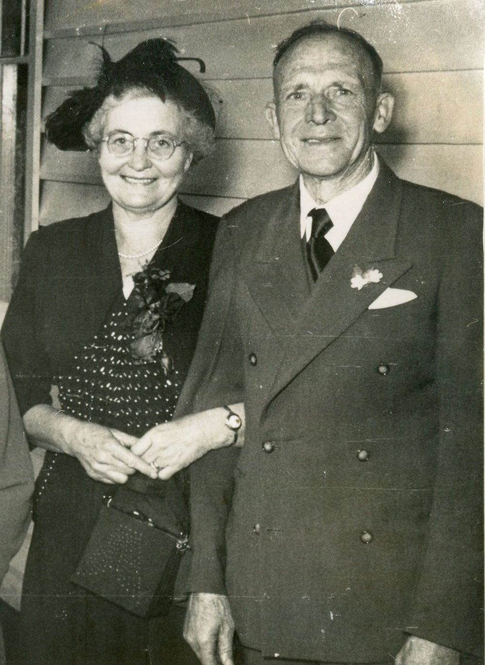 L-R: May and Reg Walters, early 1950s