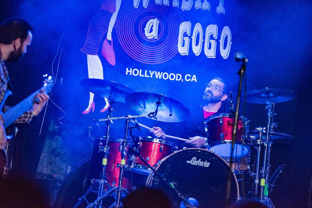 Drummer,  Lucio Vieira . Photography by Boston Lynn.