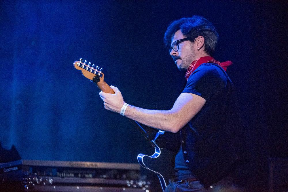 Guitarist, Roberto Reischak . Photography by Boston Lynn.