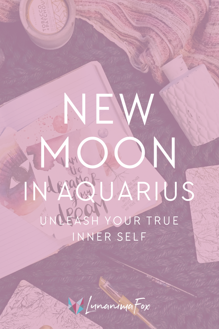 New Moon February | Astrology + Moon Phases | Moon in Aquarius | Zodiac Signs Moon Meaning | Being Authentic | Setting Intentions | Self-Improvement | Personal Development Tips + Ideas | Stay motivated | Live your best life | Manifesting tips + ideas | Self-care tips | Simple living | Minimalism lifestyle tips | Self-care benefits | Self development | How to be a Minimalist | Decluttering tips | Positive Affirmations | Mindset Shifts | Positive Thinking | Change Your Life | Life coaching