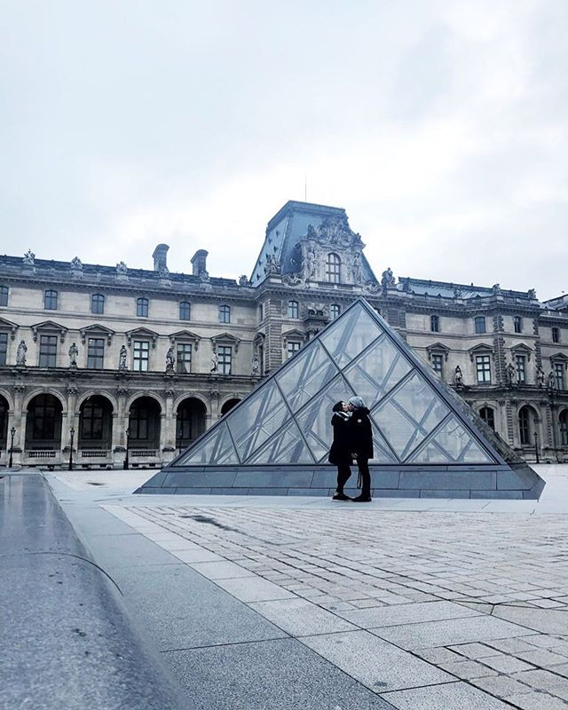 We spent over 6 hours in the Louvre and still didn't even scratch the surface of this place. But I have to say that the architecture was one of my highlights! Having it all to ourselves was also a plus! ✨