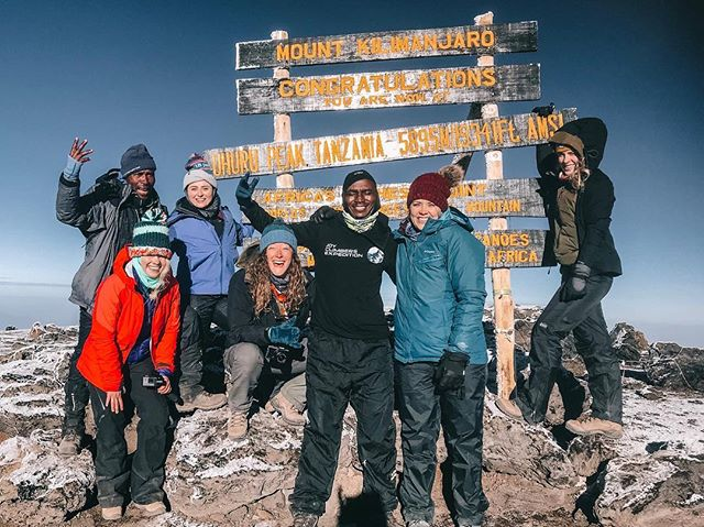 Kilimanjaro is the tallest peak in #africa and the tallest FREE STANDING mountain in the world. Some of our friends embarked on the 19,341ft climb a few weeks ago and you can read all about their experience on helloadventureco! #kilimanjaro #travelguides