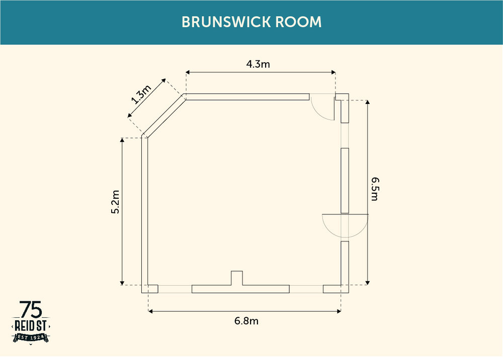 Brunswick Room Floorplan