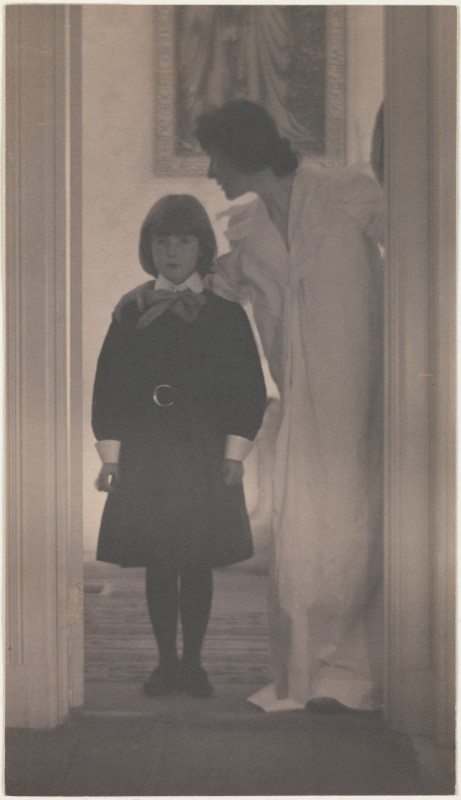 Blessed Art Thou among Women   Gertrude Käsebier (American); Date: 1899 Medium: Platinum print; Metropolitan Museum of Art