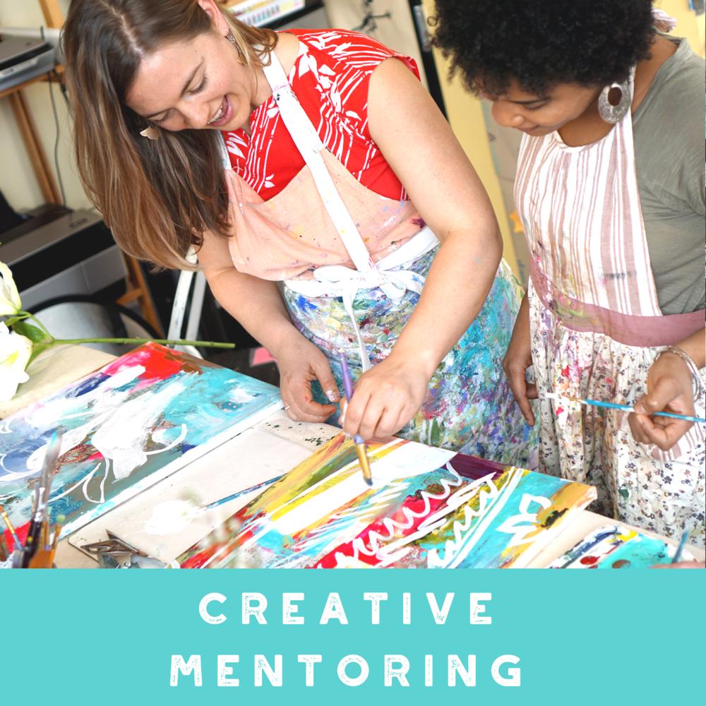 Annamieka Davidson Creative Mentoring