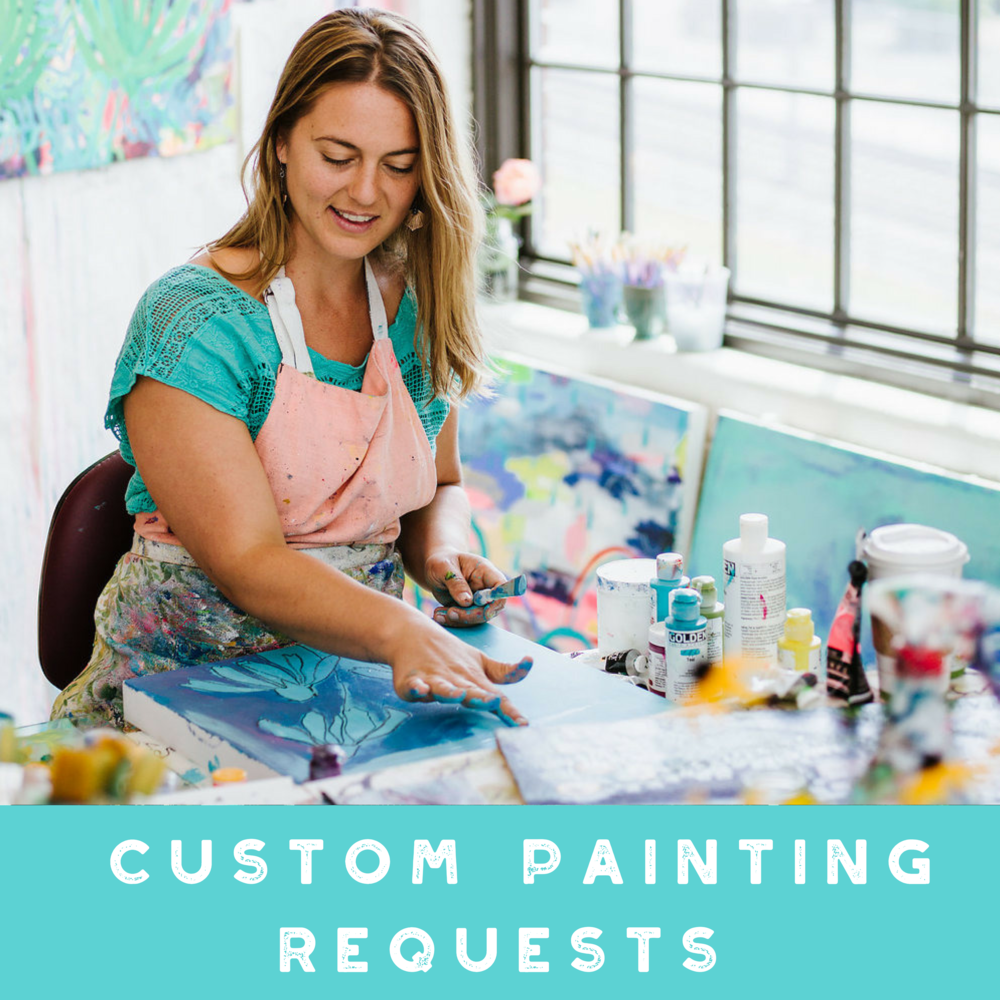 Annamieka Davidson Custom Painting Requests